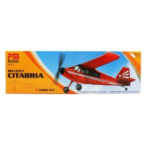 PM 2015 Bellenca Citabria - Rubber Powered Balsa Model Airplane Kit