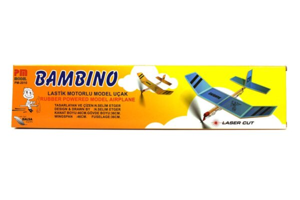 PM 1003 Bambino - Rubber Powered Balsa Model Airplane Kit