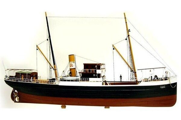"Turk Model 123 1/87 Turkish Ship ""BANDIRMA""- Wooden Kit"