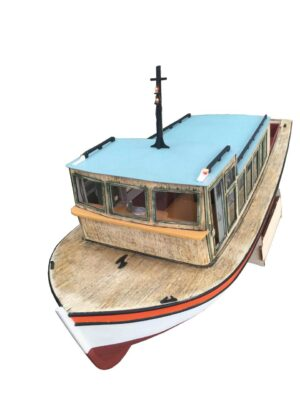 Turk Model 126 1/12 Besiktas Motor Boat Wooden Kit
